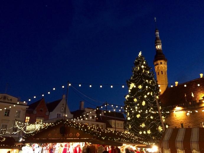 Christmas in Tallinn's main square