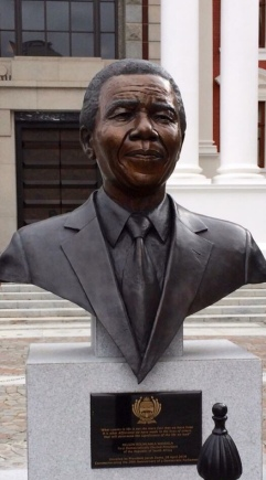 Nelson Mandela Statue, South African Parliament