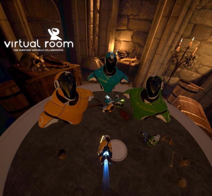 VR fist pump