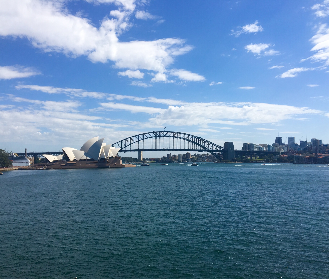 Sydney Harbour and Opera House