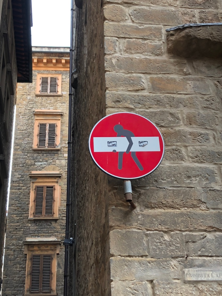 Street art is hidden around Florence