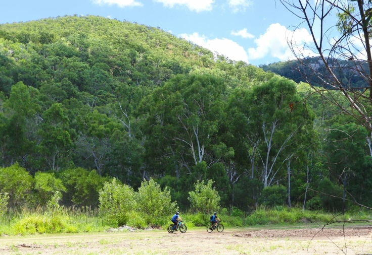 First Turkey Mountain Bike Reserve, Rockhampton