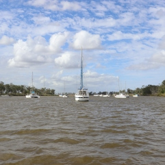 Boats on the Fitzroy River, Rockhampton
