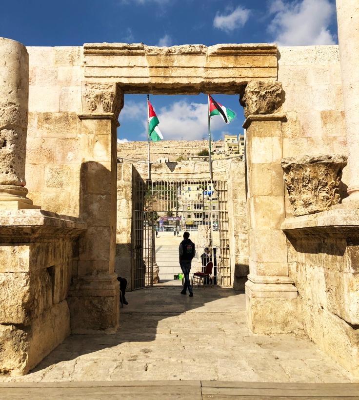 Ampitheatre gates