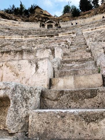 Ampitheatre steps