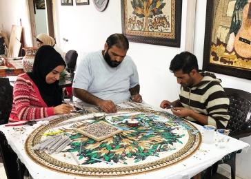 large mosaic