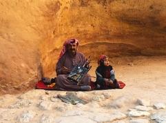 Petra buskers