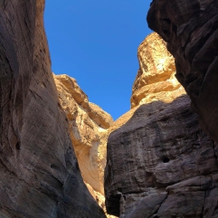 In the Siq