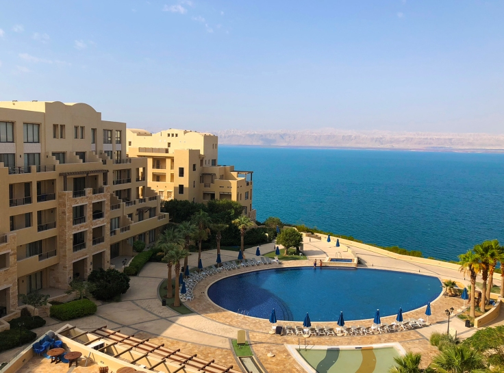 View of resort, sea, Israel